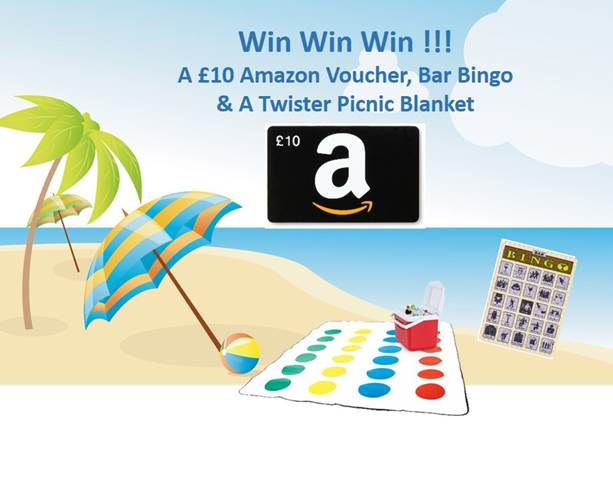 win a beach holiday prize bundle