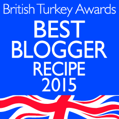 British Turkey awards best blogger recipe 2015