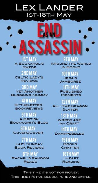 End As An Assassin Blog Tour