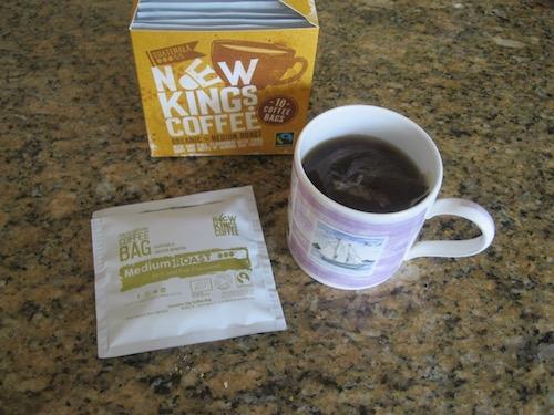 New Kings Coffee gourmet coffee bags