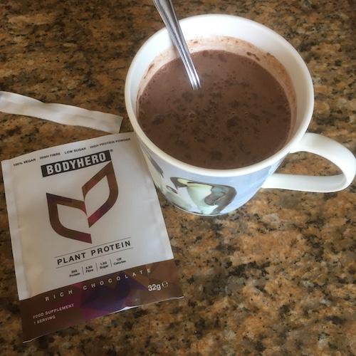 Bodyhero chocolate shake